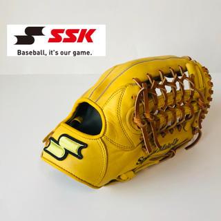 SSK - SSK 軟式 オールラウンド用 グローブ グラブ イエロー