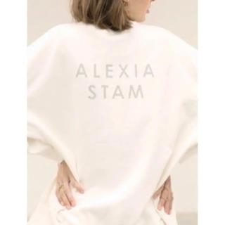 ALEXIA STAM - alexiastam ロゴスウェット