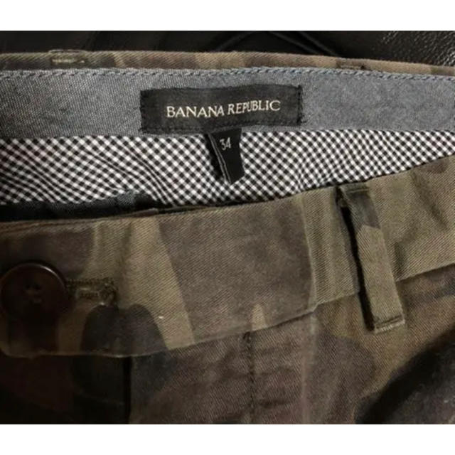 Banana Republic(バナナリパブリック)のバナナリパブリック カモフラパンツ メンズのパンツ(ワークパンツ/カーゴパンツ)の商品写真