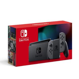 Nintendo Switch - Nintendo Switch 本体 グレー (新モデル)