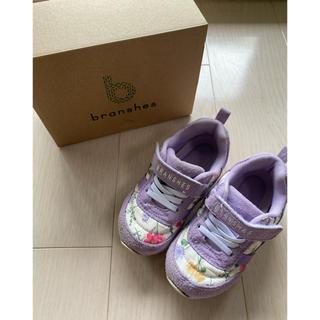 Branshes - ブランシェス スニーカー 花柄 16 靴