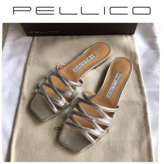 ペリーコ(PELLICO)のPELLICO ペリーコ SKINNY CROSS サンダル  新品 23.5(サンダル)