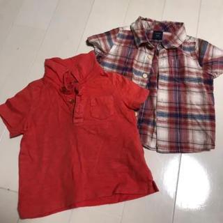 ギャップ(GAP)のbabyGap  半袖シャツ 2枚セット(シャツ/カットソー)