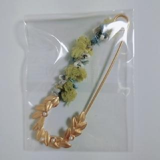 フェリシモ(FELISSIMO)のフェリシモ サニークラウズ 毛糸の留めピン(ブローチ/コサージュ)
