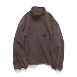 サンシー(SUNSEA)の新品未使用 stein 19aw over sleeve fleece top(ブルゾン)