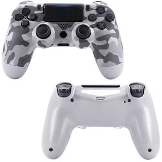 2020年版 PS4 ワイヤレスコントローラー 迷彩 グレー 互換品