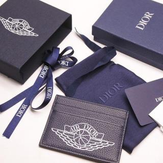 クリスチャンディオール(Christian Dior)のDior jordan air ディオール air dior カードケース 正規(名刺入れ/定期入れ)