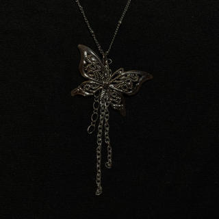 **fluttering butterfly silver necklace**(ネックレス)