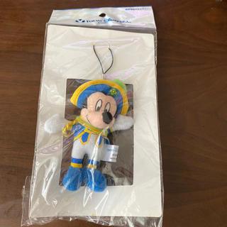 ミッキーマウス(ミッキーマウス)の新品未使用 ストラップ 東京ディズニーリゾート ミッキー マスコット ストラップ(ストラップ/イヤホンジャック)