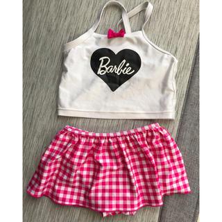 バービー(Barbie)のバービー☆Barbie☆水着☆セパレート☆120サイズ(水着)