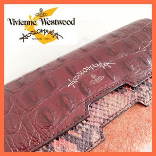 ヴィヴィアンウエストウッド(Vivienne Westwood)のヴィヴィアン ウエストウッド アングロマニア 財布 長財布 レザー(財布)