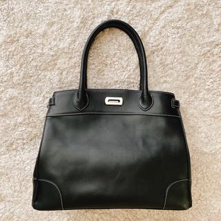 濱野皮革工藝/HAMANO - 【美品】濱野鞄 クラシック 黒 トート