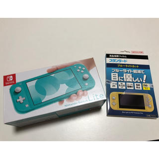 Nintendo Switch - 新品未使用 Switch Lite  本体 液晶保護フィルム付き