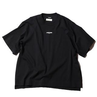 ジエダ(Jieda)のJieDa × renoma PHOTO T-SHIRT BLACK(Tシャツ/カットソー(半袖/袖なし))