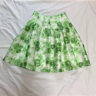 M'S GRACY - エムズグレイシー(M'S GRACY)カタログ掲載ローズ柄スカート