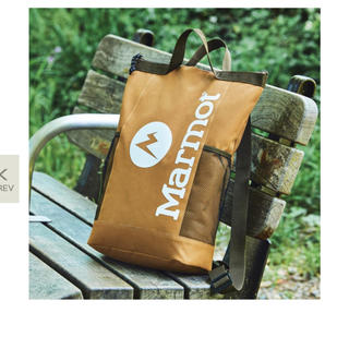 マーモット(MARMOT)のモノマックス8月号特別付録 Marmot背負える保冷バッグ(バッグパック/リュック)