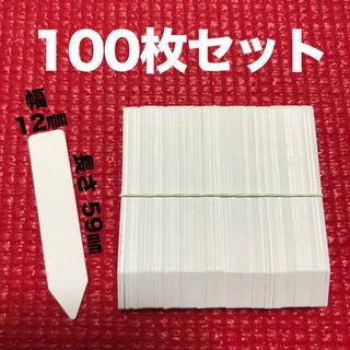 ガーデニングラベル フラワーラベル 多肉植物 におすすめ 100枚セット(その他)