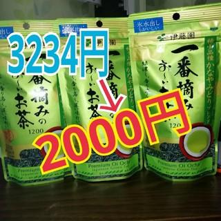 イトウエン(伊藤園)の伊藤園一番摘みのお~いお茶100g3袋セット(茶)