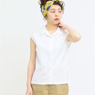 チャイルドウーマン(CHILD WOMAN)の△100/2ブロードフレンチS BL(シャツ/ブラウス(半袖/袖なし))