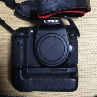 キヤノン(Canon)のcanon 7D + バッテリーグリップ(デジタル一眼)