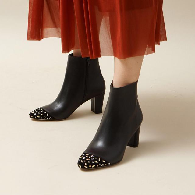 AU BANNISTER(オゥバニスター)のオゥバニスターショートブーツ 新品未使用品 レディースの靴/シューズ(ブーツ)の商品写真