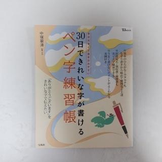 宝島社 - 30日できれいな字が書けるペン字練習帳