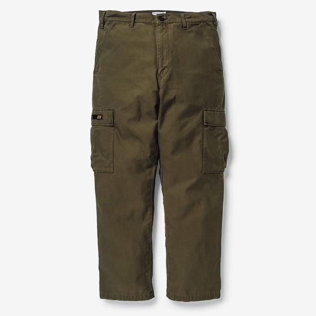 W)taps(ダブルタップス)のWTAPS JUNGLE STOCK 01 olive Mサイズ メンズのパンツ(ワークパンツ/カーゴパンツ)の商品写真