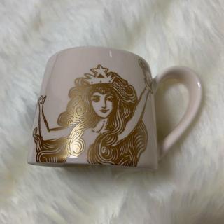 スターバックスコーヒー(Starbucks Coffee)のSTARBUCKS♢アニバーサリーmini cup♢white(グラス/カップ)
