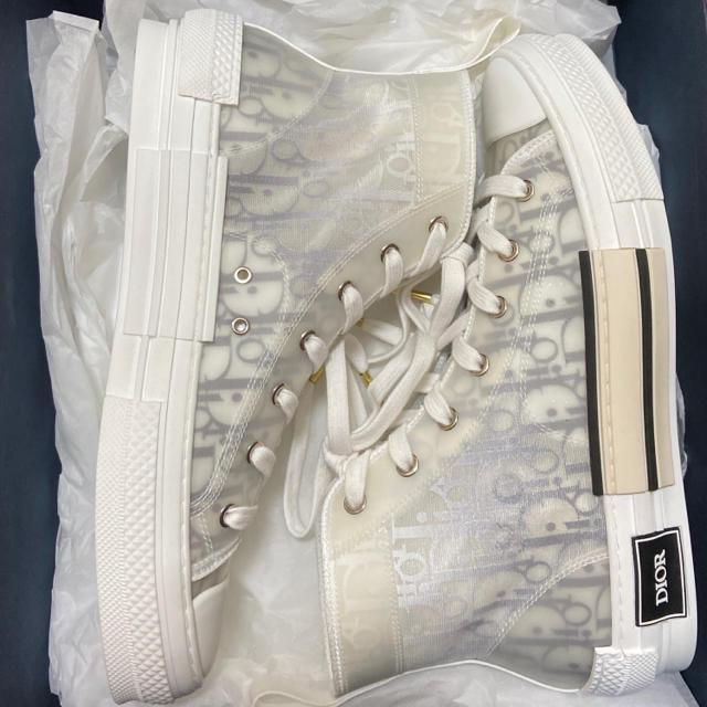 DIOR HOMME(ディオールオム)の国内正規品 ディオールオム B23 HIGH OBLIQUE スニーカー メンズの靴/シューズ(スニーカー)の商品写真