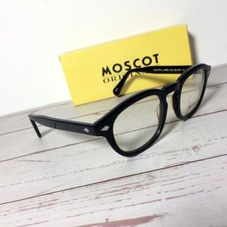 レイバン(Ray-Ban)のMOSCOT モスコット LARGE メガネ LEMTOSH ブラック(サングラス/メガネ)