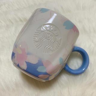 スターバックスコーヒー(Starbucks Coffee)のSTARBUCKS♢マグカップpink×blue(グラス/カップ)