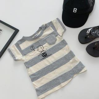 BREEZE - BREEZE チャーリーブラウンTシャツ