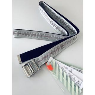 オフホワイト(OFF-WHITE)の新品タグ付き 正規品 オフホワイト インダストリアルベルト(ベルト)