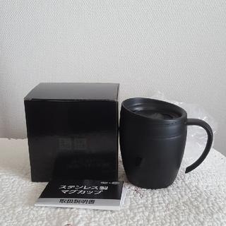UNIQLO - UNIQLOマグカップ(黒)