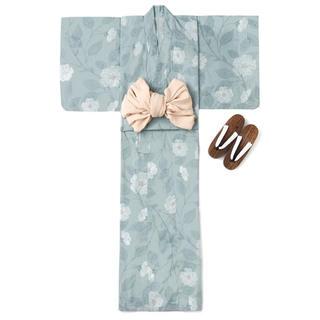 グレイル(GRL)のGRL 4点セットモダンフラワー柄浴衣 新作 rili tokyo系 よもぎもち(浴衣)