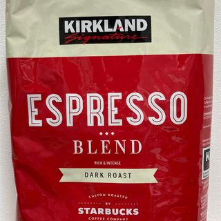 コストコ(コストコ)のカークランド スターバックス コーヒー豆(コーヒー)