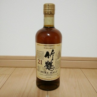 ニッカウヰスキー - 竹鶴 21年 ピュアモルト ウイスキー 700ml