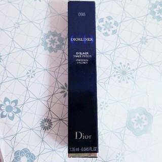 クリスチャンディオール(Christian Dior)のDiorディオールライナー098ヌワールリキッド(アイライナー)