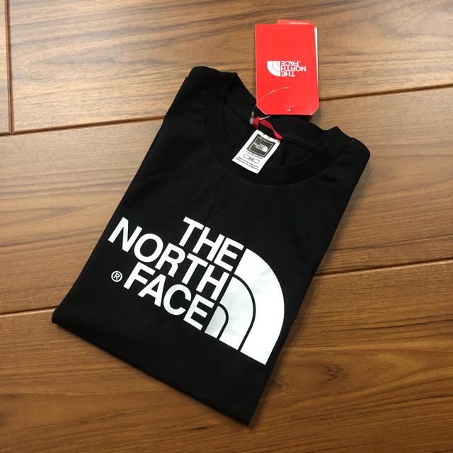 THE NORTH FACE(ザノースフェイス)の新品 ノースフェイス キッズ Tシャツ 子ども 黒 XL (レディースL相当) キッズ/ベビー/マタニティのキッズ服男の子用(90cm~)(Tシャツ/カットソー)の商品写真