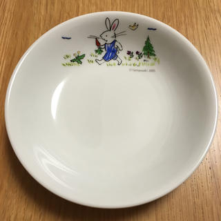 山脇百合子 やまわきゆりこ うさぎ お皿(食器)