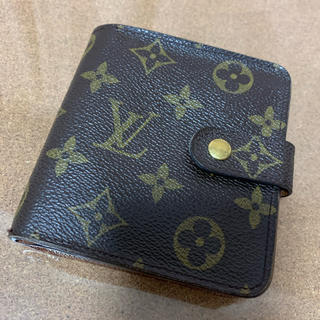 LOUIS VUITTON - LOUIS VUITTON ルイヴィトン モノグラム コンパクト財布