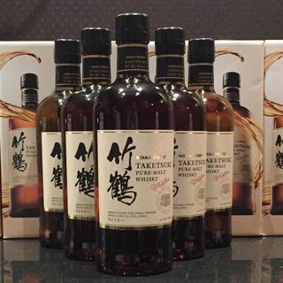 ニッカウヰスキー - 竹鶴 ピュアモルト 700ml 新ボトル箱付き6本セット新品未開封