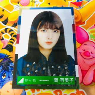 欅坂46(けやき坂46) - 欅坂46 関有美子 生写真