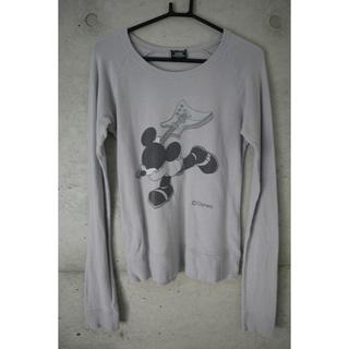 マウジー(moussy)のmoussy ディズニー コラボTシャツ(Tシャツ(長袖/七分))