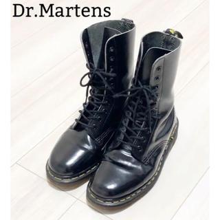 ドクターマーチン(Dr.Martens)の★英国製 ドクターマーチン Dr.Martens 10ホール UK4★(ブーツ)