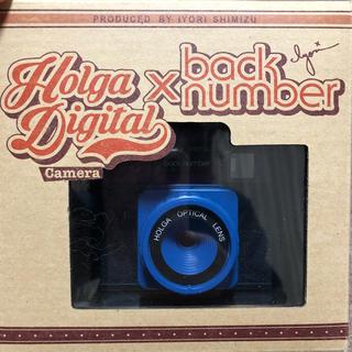 バックナンバー(BACK NUMBER)の値下げ❗️back numberトイカメラ(ミュージシャン)