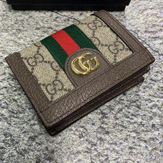 Gucci - GUCCI グッチ 財布 二つ折り財布 シェリーライン ミニウォレット