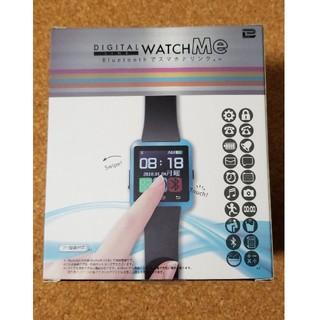 専用です。 DIGITAL WATCH Me  ブルー(腕時計(デジタル))