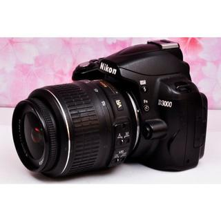 キヤノン(Canon)の❤美品❤スマホへ転送❤Nikon D3000 ❤(デジタル一眼)