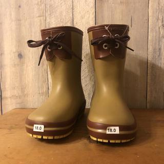 ハンター(HUNTER)の新品タグ付き レインブーツ キッズ 18㎝ 長靴 ハンター ビスゴ (長靴/レインシューズ)